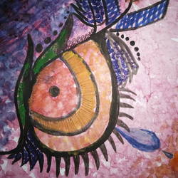 eye, 8 x 11 inch, ananya pattnaik,modern art paintings,paintings for dining room,drawing paper,poster color,8x11inch,GAL017885008