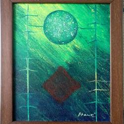 innovation series (small) - innovation-01, 10 x 12 inch, bharti sharma,abstract paintings,paintings for living room,canvas,acrylic color,10x12inch,GAL018425087