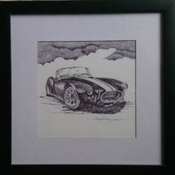 vintage wheels, 8 x 8 inch, vinay surtikar,illustration paintings,paintings for office,thick paper,ball point pen,8x8inch,GAL018775172