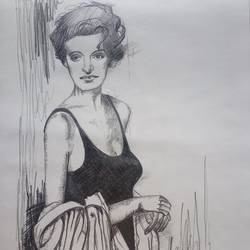 the diva, 10 x 14 inch, zeel savla,portrait drawings,paintings for office,paper,charcoal,10x14inch,GAL019825519