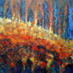 fire, 27 x 33 inch, seby augustine,abstract paintings,paintings for living room,canvas,acrylic color,27x33inch,GAL01505656