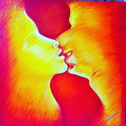 love has no confines , 30 x 30 inch, gayatri hurra,abstract expressionist paintings,paintings for bedroom,love paintings,canvas,acrylic color,30x30inch,GAL021875878heart,family,caring,happiness,forever,happy,trust,passion,romance,sweet,kiss,love,hugs,warm,fun,kisses,joy,friendship,marriage,chocolate,husband,wife,forever,caring,couple,sweetheart