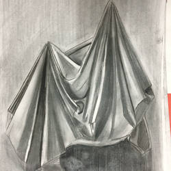hidden desires, 12 x 17 inch, harshit mall,abstract drawings,paintings for living room,ivory sheet,charcoal,12x17inch,GAL021915907