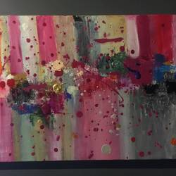raining art , 22 x 20 inch, bhavik  bhatwani,abstract paintings,paintings for office,canvas,acrylic color,22x20inch,GAL022095950