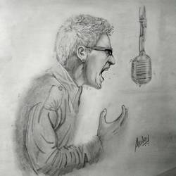 chester bennington - linkin park, 3456 x 4608 inch, akshay jadhav,portrait drawings,paintings for living room,paper,pencil color,3456x4608inch,GAL022316009