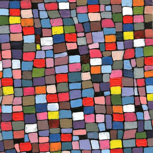 abstract - multicolour, 8 x 11 inch, sumona kundu,abstract paintings,paintings for office,canvas,acrylic color,8x11inch,GAL021906060