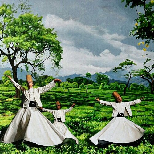 nirvana unleashed, 36 x 24 inch, tavishi kanoria,landscape paintings,paintings for living room,horizontal,canvas,oil paint,36x24inch,GAL013966101