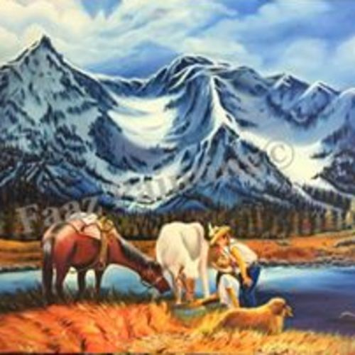 beauty of nature, 36 x 24 inch, faazilah ahmed,landscape paintings,paintings for living room,canvas,oil paint,36x24inch,GAL022816120