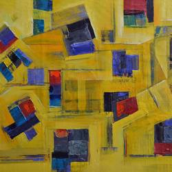 11, 32 x 22 inch, tejas danej,abstract paintings,paintings for living room,canvas,acrylic color,32x22inch,GAL022876140