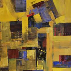 13, 23 x 27 inch, tejas danej,abstract paintings,paintings for living room,canvas,acrylic color,23x27inch,GAL022876142