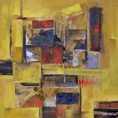 14, 23 x 27 inch, tejas danej,abstract paintings,paintings for living room,canvas,acrylic color,23x27inch,GAL022876143