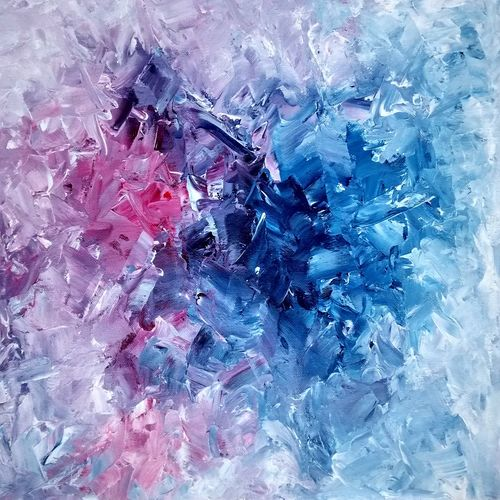 abstract , 18 x 15 inch, sumona kundu,abstract paintings,paintings for living room,canvas,acrylic color,18x15inch,GAL021906315
