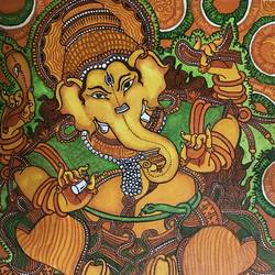 ganesha canvas, 11 x 16 inch, sudharsan r,ganesha paintings,paintings for living room,canvas,watercolor,11x16inch,GAL024306380,vinayak,ekadanta,ganpati,lambodar,peace,devotion,religious,lord ganesha,lordganpati,ganpati,ganesha,lord ganesh,elephant god,religious,ganpati bappa morya,mouse,mushakraj,ladoo,,ganpati bappa morya,ganesh chaturthi,ganesh murti,elephant god,religious,lord ganesh,ganesha,om,hindu god,shiv parvati, putra,bhakti,blessings,aashirwad,pooja,puja,aarti,ekdant,vakratunda,lambodara,bhalchandra,gajanan,vinayak,prathamesh,vignesh,heramba,siddhivinayak,mahaganpati,omkar,mushak,mouse,ladoo,modak