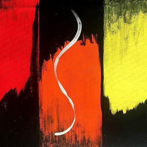 abstract art-2, 20 x 12 inch, seema agrawal,abstract paintings,paintings for office,paintings,canvas,acrylic color,20x12inch,GAL018596388