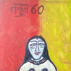 women , 22 x 23 inch, tanuj swarnakar,figurative paintings,paintings for office,thick paper,oil,22x23inch,GAL024566450