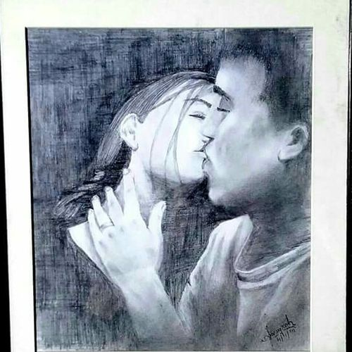 still in love, 7 x 6 inch, anugrah edmonds,realism drawings,paintings for bedroom,love paintings,drawings,expressionist drawings,figurative drawings,impressionist drawings,paintings for living room,paintings for office,paintings for hotel,thick paper,pencil color,7x6inch,GAL0203671heart,family,caring,happiness,forever,happy,trust,passion,romance,sweet,kiss,love,hugs,warm,fun,kisses,joy,friendship,marriage,chocolate,husband,wife,forever,caring,couple,sweetheart