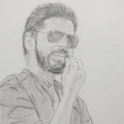 cool boy , 7 x 11 inch, poovitha jayaprakash,fine art drawings,paintings for office,thick paper,graphite pencil,7x11inch,GAL026166780
