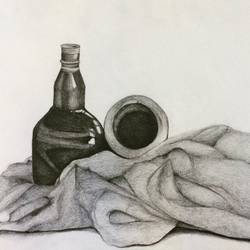 encore, 15 x 11 inch, mardvi patel,fine art drawings,paintings for office,thick paper,pencil color,15x11inch,GAL025816803