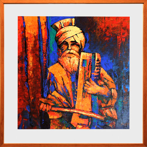 the music of harmony, 18 x 18 inch, gurdish pannu,modern art paintings,paintings for office,canvas,acrylic color,18x18inch,GAL025376839