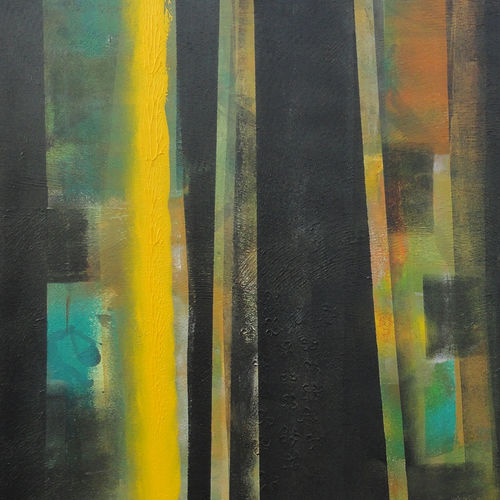 colour of indian forest 8, 24 x 36 inch, nandini verma,landscape paintings,paintings for living room,canvas,acrylic color,24x36inch,GAL027377152