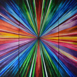 big bang, 36 x 24 inch, aatmica ojha,abstract paintings,paintings for office,canvas,acrylic color,36x24inch,GAL026897288