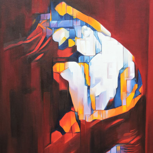 romance modern art, 24 x 36 inch, roja lawrence,modern art paintings,paintings for bedroom,love paintings,vertical,canvas,oil,24x36inch,GAL04387341heart,family,caring,happiness,forever,happy,trust,passion,romance,sweet,kiss,love,hugs,warm,fun,kisses,joy,friendship,marriage,chocolate,husband,wife,forever,caring,couple,sweetheart