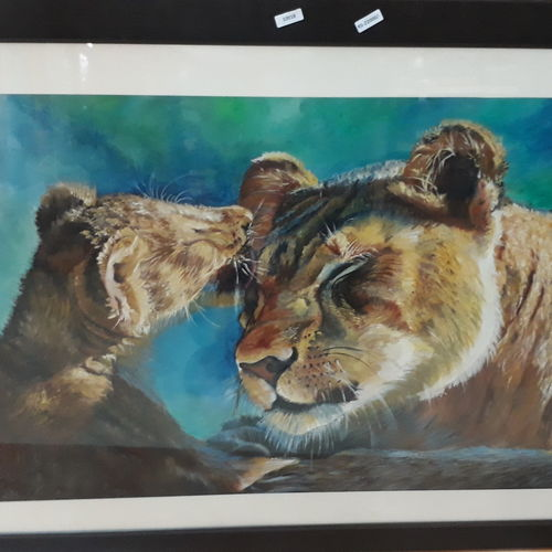 acrylic knife, 18 x 24 inch, mansi nigam,wildlife paintings,paintings for dining room,canvas,acrylic color,18x24inch,GAL028237368