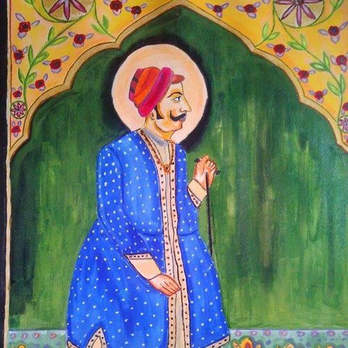 untitelled, 18 x 24 inch, mohammed irfan,figurative paintings,paintings for living room,canvas,acrylic color,18x24inch,GAL0381737