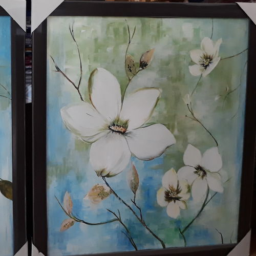 acrylic knife, 18 x 24 inch, mansi nigam,flower paintings,paintings for dining room,canvas,acrylic color,18x24inch,GAL028237373