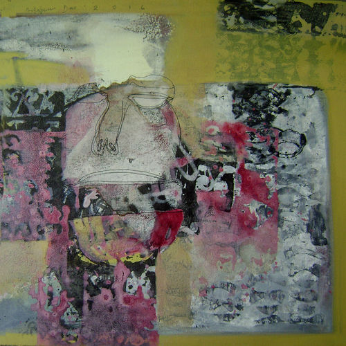 untitled , 15 x 15 inch, anjan das,abstract paintings,paintings for dining room,canvas,acrylic color,15x15inch,GAL0337740