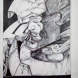 iron man, 8 x 12 inch, sukriti mandal,fine art drawings,paintings for living room,drawing paper,pen color,8x12inch,GAL029937441