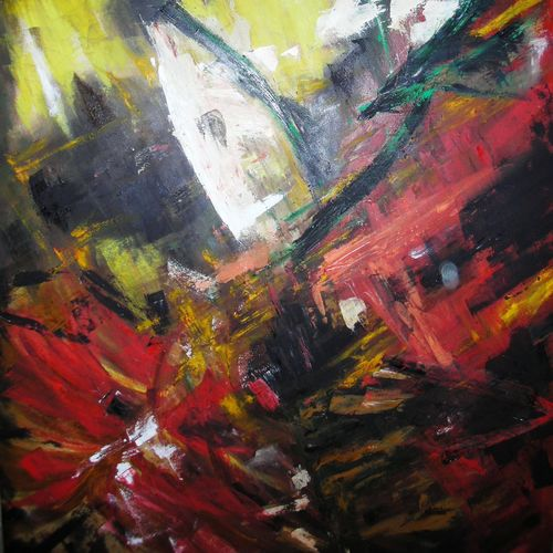 opus, 36 x 48 inch, ritu george,abstract paintings,paintings for living room,canvas,oil paint,36x48inch,GAL030537526