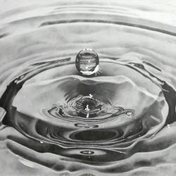 water drop , 17 x 12 inch, pankti jain,realism drawings,paintings for office,ivory sheet,graphite pencil,17x12inch,GAL030577588