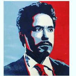 ironman, 12 x 17 inch, mrunmayee dhumane,portraiture,paintings for living room,figurative paintings,thick paper,acrylic color,12x17inch,GAL031127608