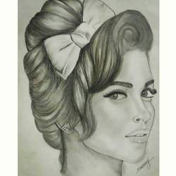 deepika, 12 x 17 inch, mrunmayee dhumane,drawings,portrait drawings,paintings for bedroom,thick paper,graphite pencil,12x17inch,GAL031127609