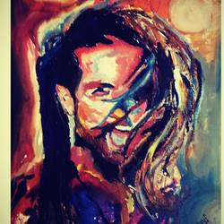 poster, 12 x 17 inch, mrunmayee dhumane,paintings,portrait paintings,paintings for bedroom,canvas,acrylic color,12x17inch,GAL031127610