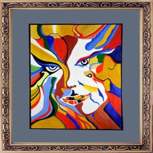 faces, 24 x 18 inch, gogy artgaleri,abstract paintings,paintings for office,canvas,acrylic color,24x18inch,GAL0406784