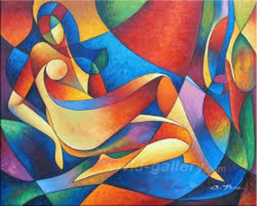 lady , 30 x 24 inch, gogy artgaleri,cubist paintings,paintings for office,canvas,acrylic color,30x24inch,GAL0406787
