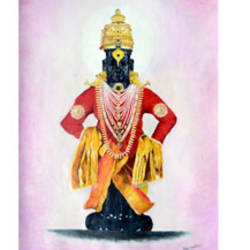 indian god, 12 x 24 inch, uttam ogale,religious paintings,paintings for office,paper,oil,12x24inch,GAL032457870