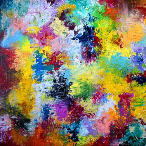 lol - laugh out loud , 36 x 24 inch, aatmica ojha,abstract paintings,paintings for living room,canvas,acrylic color,36x24inch,GAL026897931
