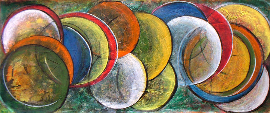 galaxy next, 30 x 12 inch, neeraj parswal,figurative paintings,paintings for dining room,canvas,acrylic color,30x12inch,GAL018