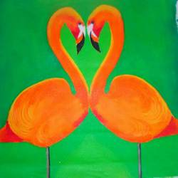 orange birds, 20 x 20 inch, narasimhaa billa,love paintings,paintings for bedroom,canvas,acrylic color,20x20inch,GAL033048002heart,family,caring,happiness,forever,happy,trust,passion,romance,sweet,kiss,love,hugs,warm,fun,kisses,joy,friendship,marriage,chocolate,husband,wife,forever,caring,couple,sweetheart