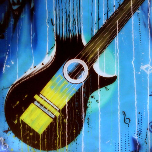 flow of music, 20 x 26 inch, colorful art arts and crafts,modern art paintings,paintings for living room,canvas,acrylic color,20x26inch,GAL0393801