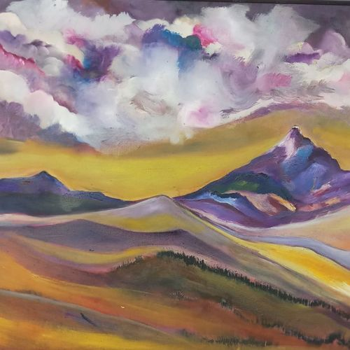 somewhere, 32 x 23 inch, ruchira jamwal,landscape paintings,paintings for living room,canvas,oil,32x23inch,GAL029378051