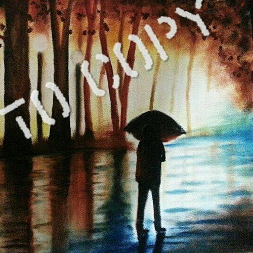 rain and alone, 16 x 20 inch, aakarshit jain,landscape paintings,paintings for bedroom,square,canvas,oil,16x20inch,GAL033728071