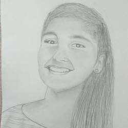 stupendous smile , 8 x 10 inch, iqra ali,drawings,illustration drawings,paintings for living room,drawing paper,pencil color,8x10inch,GAL034258171