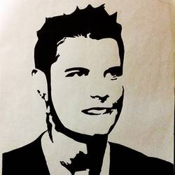 cristiano ronaldo, 8 x 12 inch, fahmi anwar,figurative paintings,paper,ink color,8x12inch,GAL034518206
