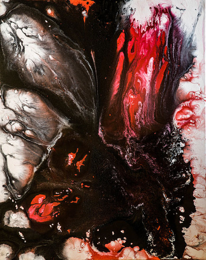 acrylic on canvas abstract, 24 x 30 inch, kartikey sharma,abstract paintings,paintings for office,canvas,acrylic color,24x30inch,GAL034418288