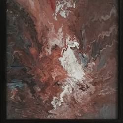fluid art - abstract , 15 x 19 inch, harini  suresh,abstract paintings,paintings for bedroom,canvas,acrylic color,15x19inch,GAL035168379