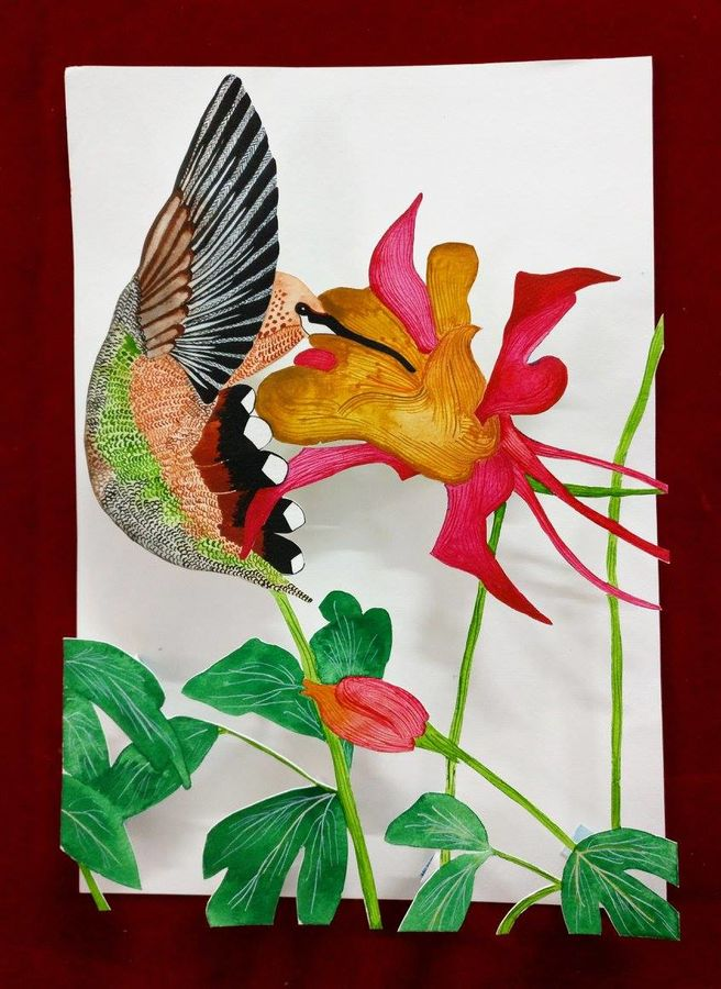 nature's beauty, 8 x 12 inch, khyati vaidya,animal paintings,paintings for living room,thick paper,watercolor,8x12inch,GAL027098407